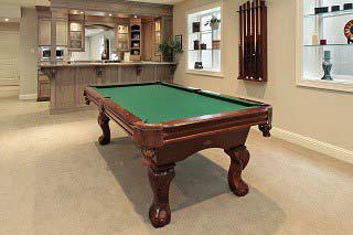 Professional pool table installers in Wilmington are backed by the ABIA