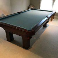 Pool Table Solid Mahogany Wood