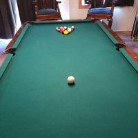 8' Regulation Slate Pool Table